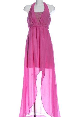 Jessica Simpson Asymetryczna sukienka różowy Elegancki
