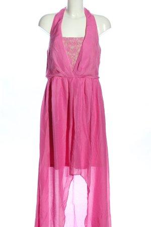 Jessica Simpson Robe bas asymétrique rose style décontracté