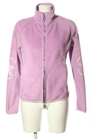 Jet Set Fleece Jackets pink themed print casual look