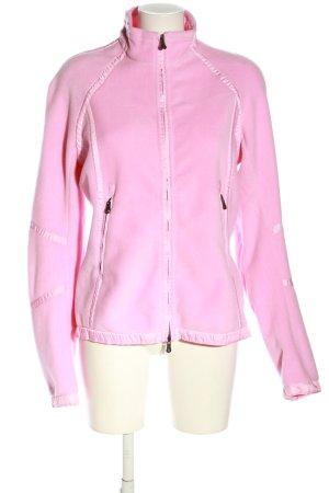 Jet Set Fleecejacke pink Casual-Look