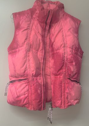 Jet Set Quilted Gilet raspberry-red-pink