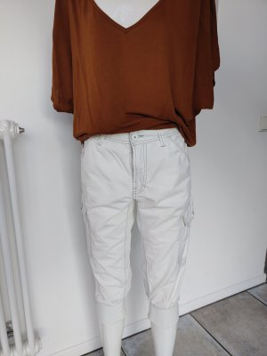 Jetlag Pantalone a 3/4 bianco