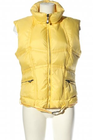 Jetset Smanicato trapuntato giallo pallido motivo trapuntato stile casual