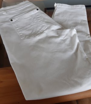 Jette Jeans a 7/8 bianco Cotone