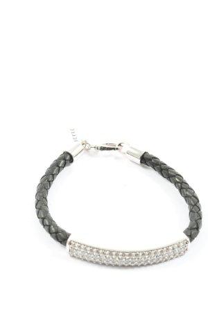 Jette Armband schwarz-silberfarben Casual-Look