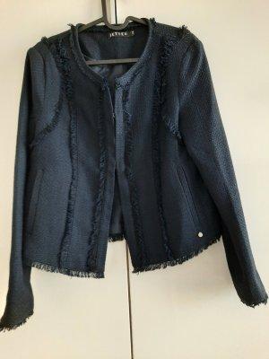 Jette Blazer Tweed azul oscuro