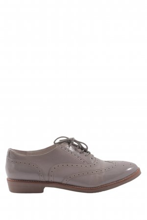 Jette Wingtip Shoes light grey business style