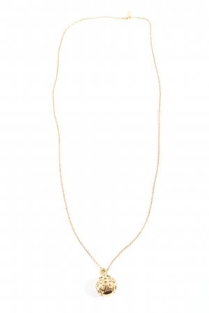 Jette Collier Necklace gold-colored casual look