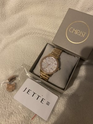 Jette Joop Reloj analógico color rosa dorado