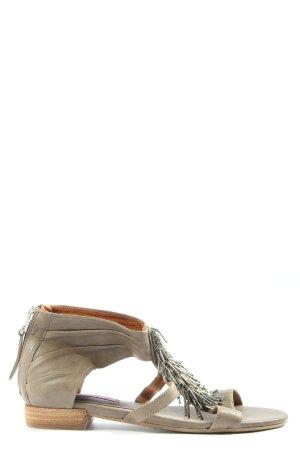 Jette Romeinse sandalen lichtgrijs casual uitstraling