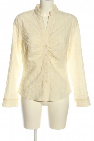 Jette Hemd-Bluse creme Streifenmuster Business-Look