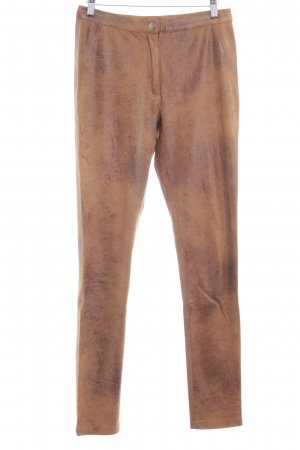 Jette High-Waist Hose braun Street-Fashion-Look
