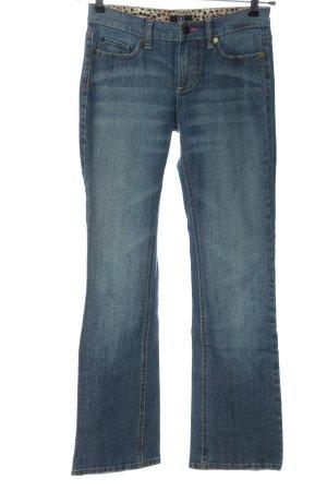 Jette Jeans flare bleu style décontracté