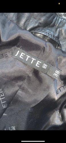 Jette Joop Chaqueta de cuero negro