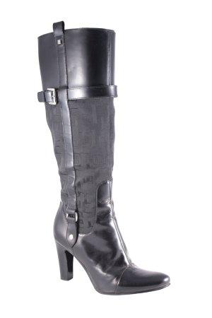 Jette Joop Absatz Stiefel schwarz klassischer Stil