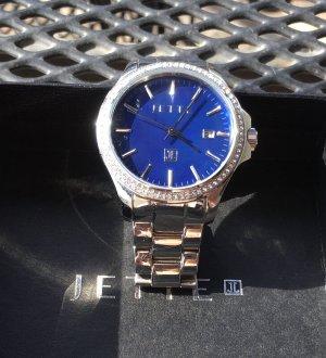 Jette Joop Armband Uhr Blau sehr guter Zustand