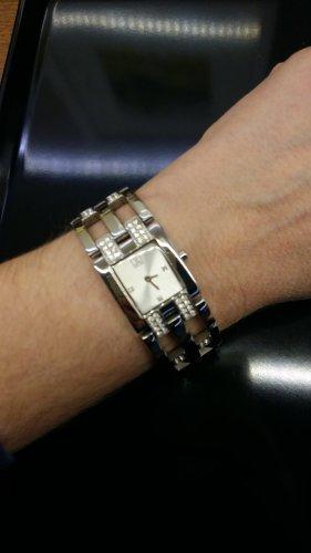 Jette Joop Montre avec bracelet métallique argenté