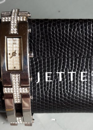 Jette Joop Analog Watch silver-colored
