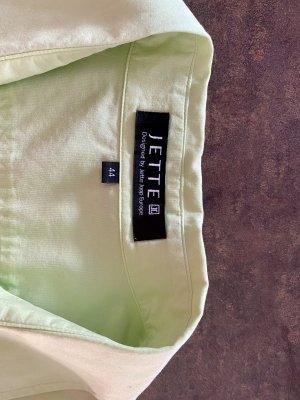 Jette Joop Blusa-camisa verde pradera Algodón