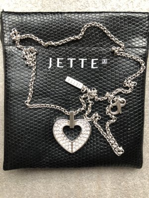 Jette Joop Necklace silver-colored real silver