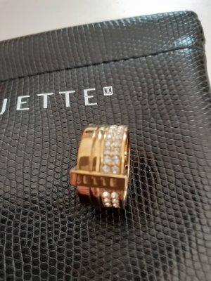 Jette Joop Ring gold farben wie NEU