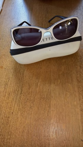 Jette Joop Oval Sunglasses black-white synthetic material