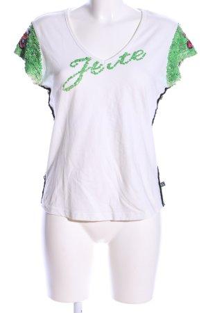 Jette Joop T-Shirt Schriftzug gedruckt Casual-Look