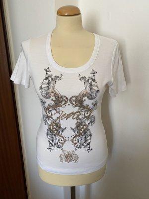 Jette Joop T Shirt mit Print in Roségold metallic Gr 38