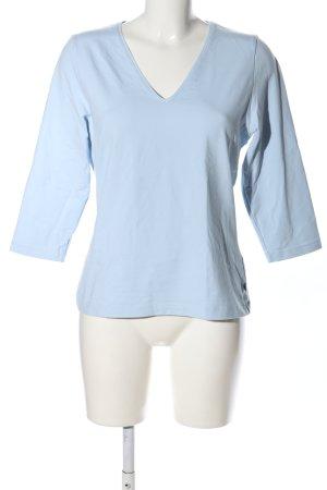 Jette Joop V-Ausschnitt-Shirt blau Casual-Look