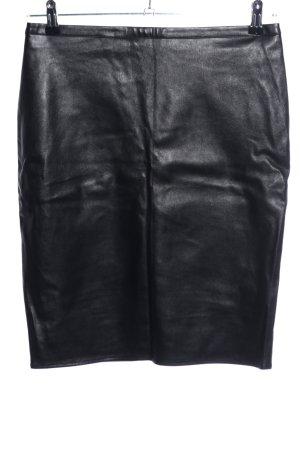 Jette Rok van imitatieleder zwart casual uitstraling