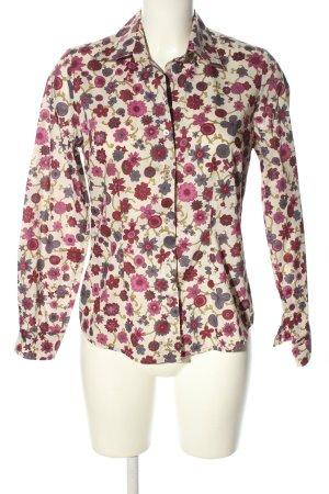 Jette Langarm-Bluse Blumenmuster Elegant