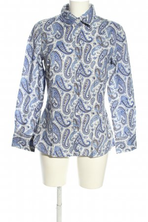 Jette Langarm-Bluse abstraktes Muster Casual-Look