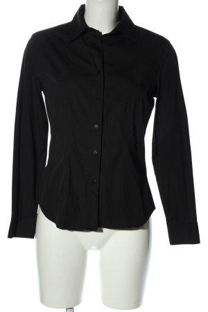Jette Koszula z długim rękawem czarny W stylu biznesowym