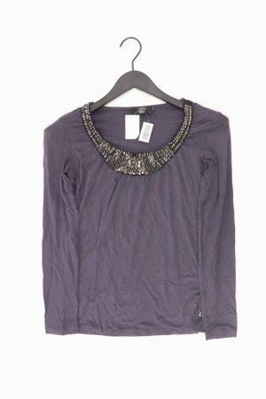 Jette Longsleeve-Shirt Größe 36 Langarm mit Pailletten lila