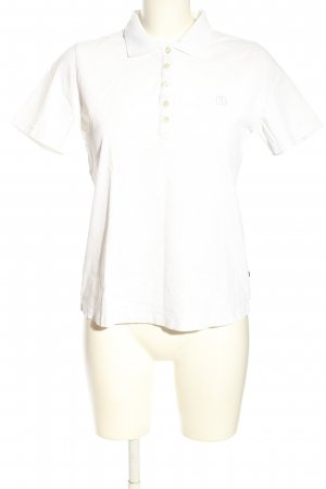 Jette Polo-Shirt weiß Casual-Look