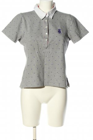 Jette Polo-Shirt Punktemuster Casual-Look