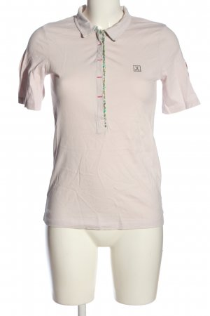 Jette Polo-Shirt hellgrau Casual-Look