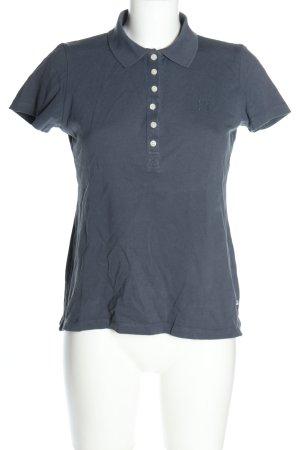 Jette Polo-Shirt hellgrau Casual-Look