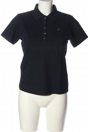 Jette Polo-Shirt schwarz Casual-Look