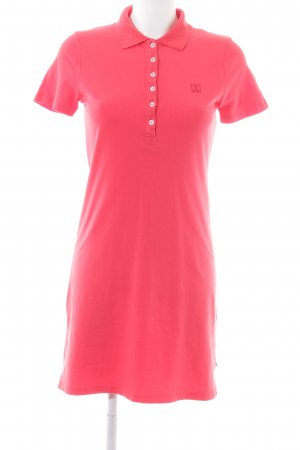 Jette Polo Dress red-white casual look