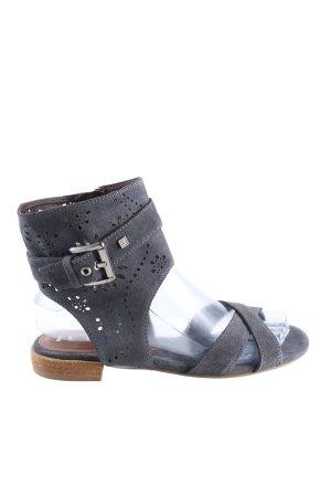Jette Riemchen-Sandalen blau Casual-Look