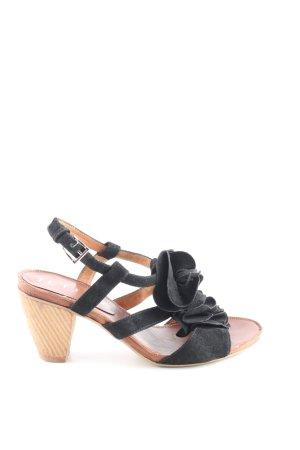 Jette Riemchen-Sandaletten schwarz Elegant