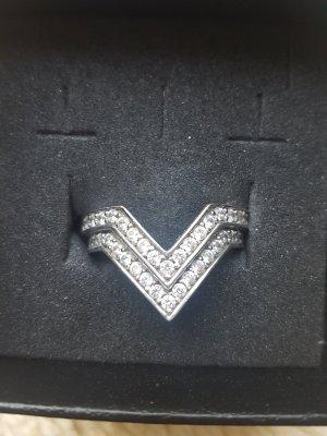 Jette Srebrny pierścionek srebrny