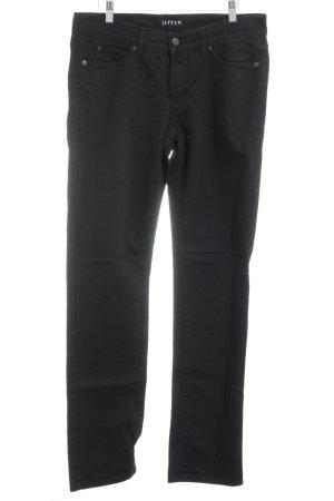 Jette Slim Jeans schwarz Casual-Look