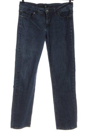 Jette Jeansy z prostymi nogawkami niebieski W stylu casual