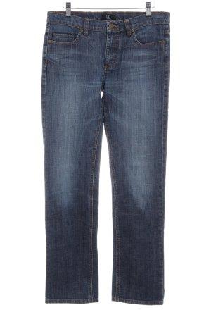 Jette Straight-Leg Jeans graublau-stahlblau Casual-Look