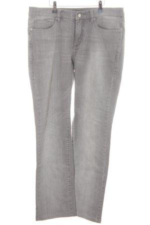 Jette Straight-Leg Jeans hellgrau Casual-Look