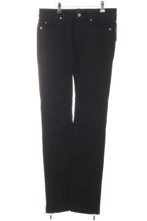Jette Straight-Leg Jeans schwarz Casual-Look