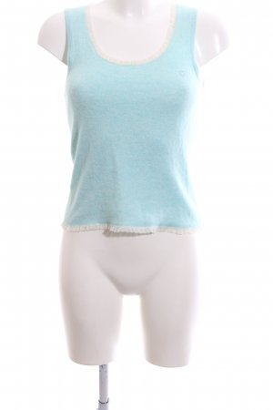 Jette Knitted Top turquoise-white casual look