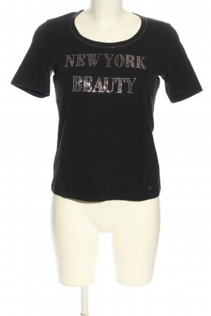 Jette T-Shirt schwarz Casual-Look